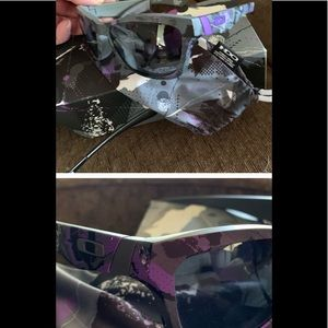 Oakley purple women NIB sunglasses Jupiter w SCarf